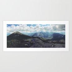 High Peaks Adirondacks Art Print