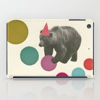 birthday iPad Cases featuring Birthday Bear by Cassia Beck