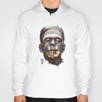 frankenstein Hoodies featuring Frankenstein by beart24