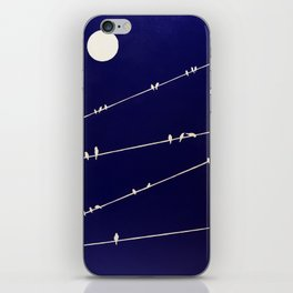 (more) birds on a Wire iPhone Skin