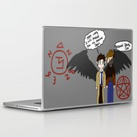 supernatural Laptop & iPad Skins featuring Supernatural  by Research&Development