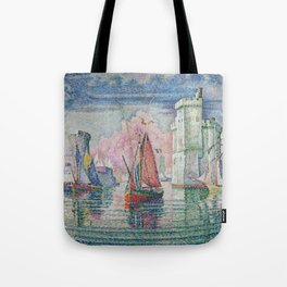 Entrance to the Port of La Rochelle Tote Bag