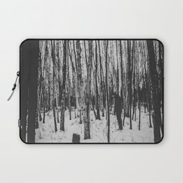 The Stranger in the Forest Laptop Sleeve
