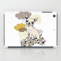 chihuahua iPad Cases featuring Chihuahua by Camille Roy