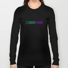 AWDSOME v6 HQvector Long Sleeve T-shirt