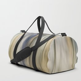Soft Blue and Gold Abstract Duffle Bag