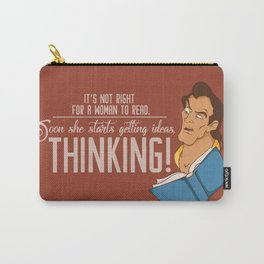 Thinking! Carry-All Pouch