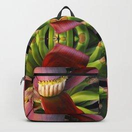 Banana Flower Pattern Backpack