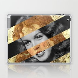 Botticelli's Venus and the Three Graces Presenting Gifts to a Young Woman (detail) & Marylin Monroe Laptop & iPad Skin