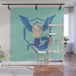 Team Mystic - Blanche Wall Mural