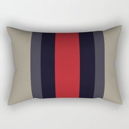High Fashion Designer Style Stripes Rectangular Pillow