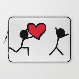 I love you by Oliver Henggeler Laptop Sleeve