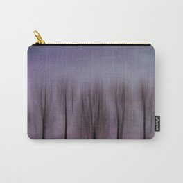 Purple Poplars Carry-All Pouch