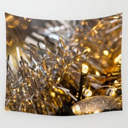 Golden Cheer IV Wall Tapestry