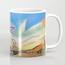 Palm Road Coffee Mug