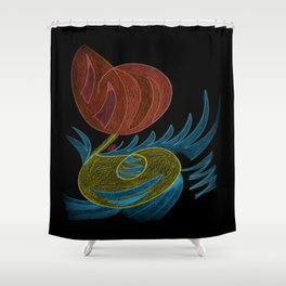 Brilliana IV Shower Curtain