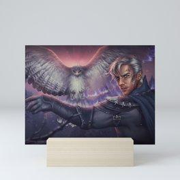 Hawk Mini Art Print