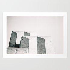 Golden Gate Architecture Art Print