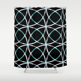 Intersecting Rings Fractal in TPGY Shower Curtain