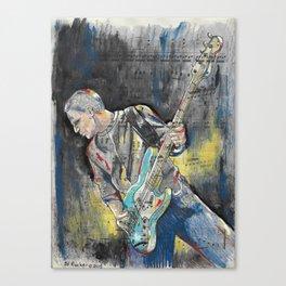 Electric Guitar 1 Canvas Print