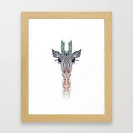 Beautiful Jiraffe Framed Art Print