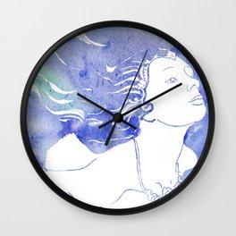 Mermaid Swimming Wall Clock