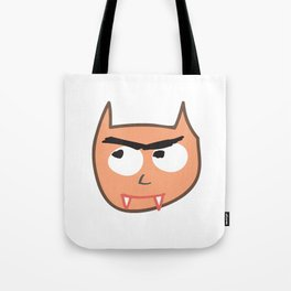 Vampire Cat Tote Bag