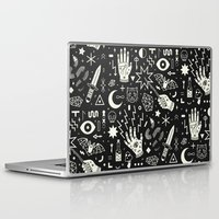 laptop Laptop & iPad Skins featuring Witchcraft by LordofMasks