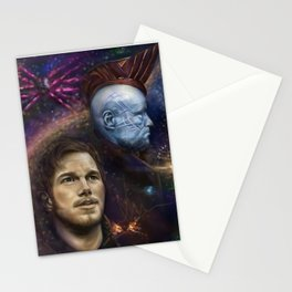 """""""Damn Proud You're My Boy"""" Guardians of the Galaxy Stationery Cards"""