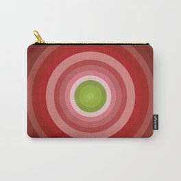 Beetroot Pink Circles Carry-All Pouch