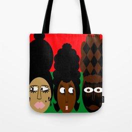 bbnyc 3 african women Tote Bag
