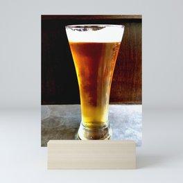 Beer Gold Mini Art Print