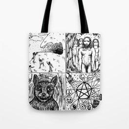 Ancient Warlock Nightstalkers Tote Bag