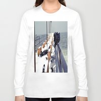 pigeon Long Sleeve T-shirts featuring Pigeon by Toni Tylicki