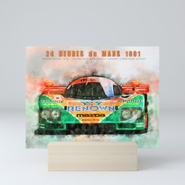 Winner Le Mans 1991 Mini Art Print