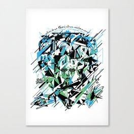 Street Diamond Canvas Print