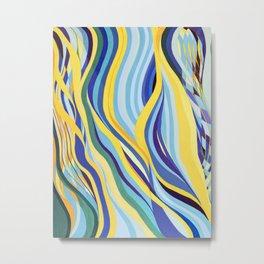 Elan Flow 9 Metal Print