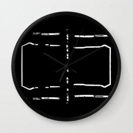 Welcome mat deployed III Wall Clock