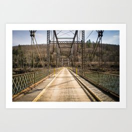 Silent Bridge Art Print