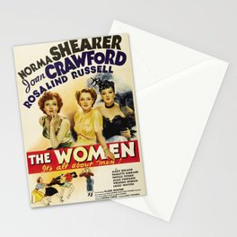 Classic Movie Poster - The Women Stationery Cards