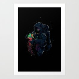 Galaxy Space Art Print