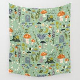 Fairy Garden Wall Tapestry