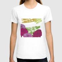 peonies T-shirts featuring Peonies by rusanovska