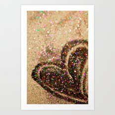Some Hearts Get Lucky Art Print
