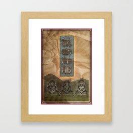 East Framed Art Print