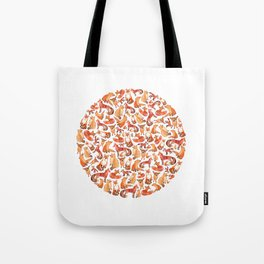 Fox Circle. Tote Bag
