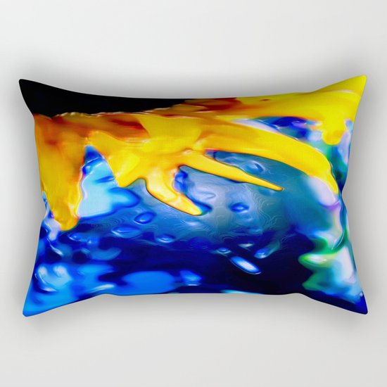 :: Liquid Sunshine :: Rectangular Pillow