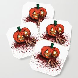 Bloody Pumpkin Coaster