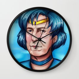 Sailor Alan Rickman Wall Clock