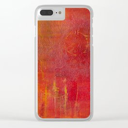 Red Storm Clear iPhone Case